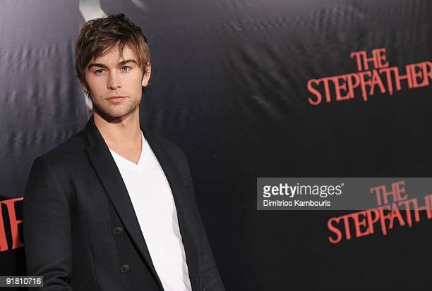 Actor Chace Crawford attends at the premiere of The Stepfather at the SVA Theater on October 12 2009 in New York City