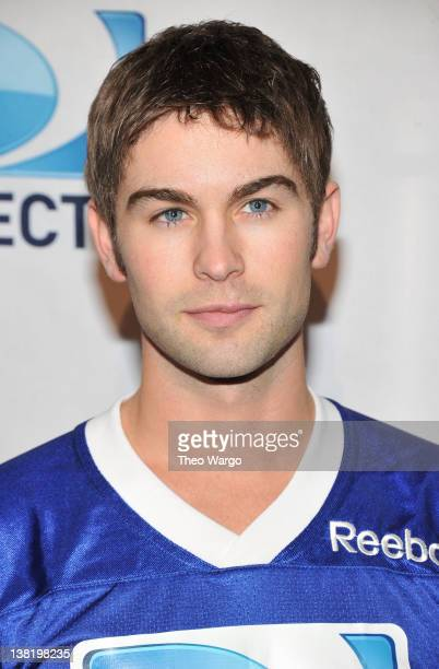 Actor Chace Crawford attends DIRECTV's Sixth Annual Celebrity Beach Bowl Game at Victory Field on February 4 2012 in Indianapolis Indiana