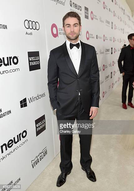 Actor Chace Crawford attends Neuro at the 22nd Annual Elton John AIDS Foundation Academy Awards Viewing Party at The City of West Hollywood Park on...