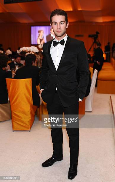 Actor Chace Crawford attends the 19th Annual Elton John AIDS Foundation Academy Awards Viewing Party at the Pacific Design Center on February 27 2011...