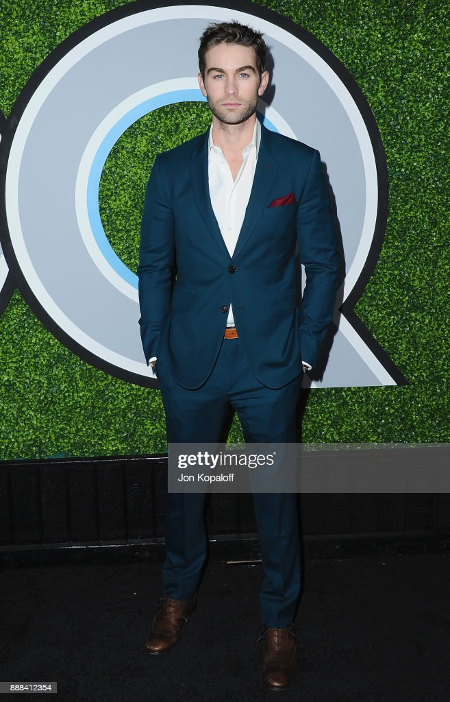 Actor Chace Crawford attends the 2017 GQ Men Of The Year Party at Chateau Marmont on December 7, 2017 in Los Angeles, California.
