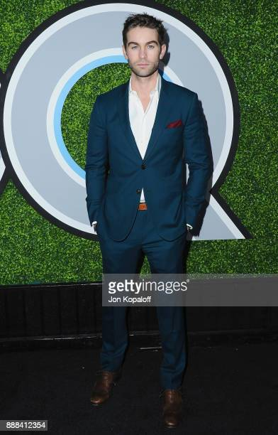 Actor Chace Crawford attends the 2017 GQ Men Of The Year Party at Chateau Marmont on December 7 2017 in Los Angeles California