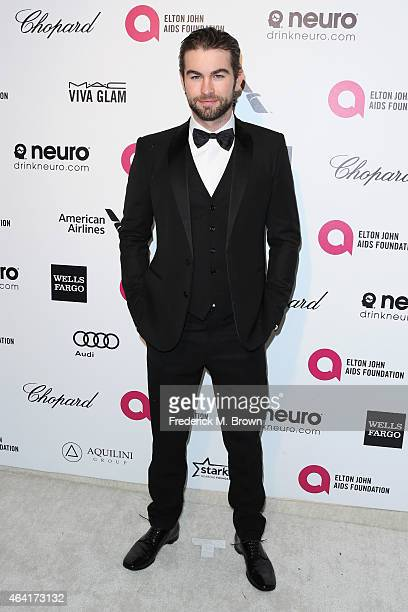 Actor Chace Crawford attends the 23rd Annual Elton John AIDS Foundation's Oscar Viewing Party on February 22 2015 in West Hollywood California