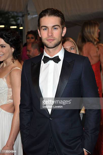 Actor Chace Crawford attends the Alexander McQueen Savage Beauty Costume Institute Gala at The Metropolitan Museum of Art on May 2 2011 in New York...