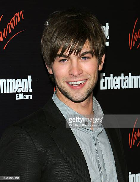 Actor Chace Crawford attends the Entertainment Weekly Vavoom Annual Upfront Party at the Bowery Hotel on May 13 2008 in New York City