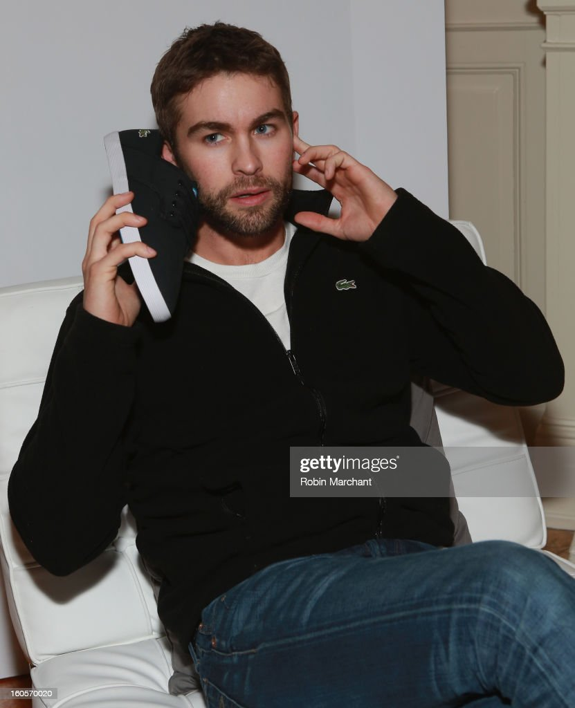Actor Chace Crawford attends the GQ Super Bowl party sponsored by Lacoste and Mercedes-Benzat The Elms Mansion on February 2, 2013 in New Orleans, Louisiana.