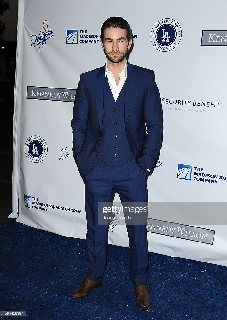 Actor Chace Crawford attends the Los Angeles Dodgers Foundation Blue Diamond gala at Dodger Stadium on July 28, 2016 in Los Angeles, California.