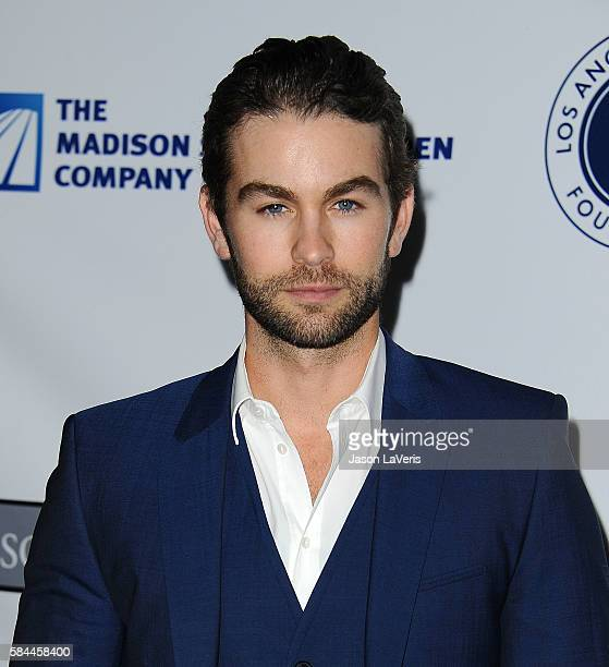 Actor Chace Crawford attends the Los Angeles Dodgers Foundation Blue Diamond gala at Dodger Stadium on July 28 2016 in Los Angeles California