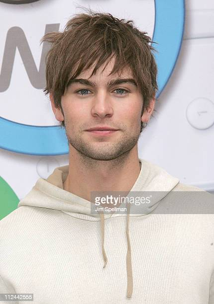 Actor Chace Crawford attends the 'Mario Kart' Wii Launch Party at Nintendo World on April 26 2008 in New York City