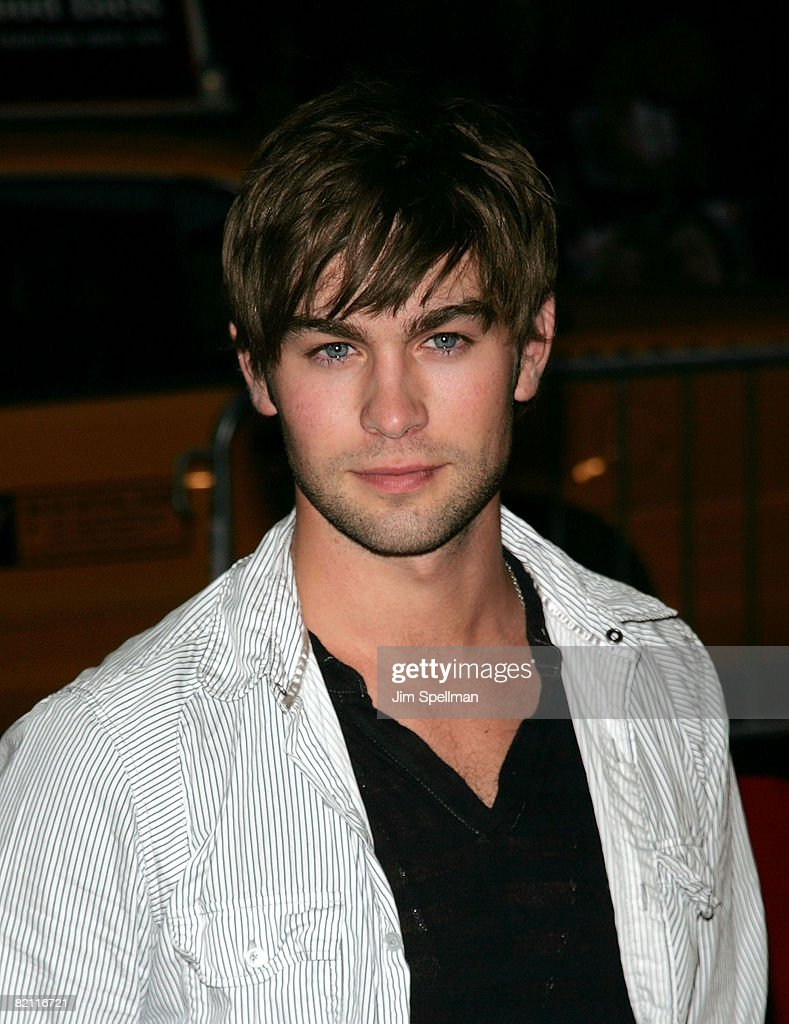 Actor Chace Crawford attends the premiere of 'The Sisterhood of the Traveling Pants 2' at the Ziegfeld Theatre on July 28, 2008 in New York City.