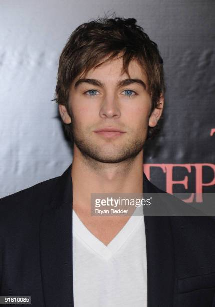 Actor Chace Crawford attends the premiere of 'The Stepfather' at the SVA Theater on October 12 2009 in New York City
