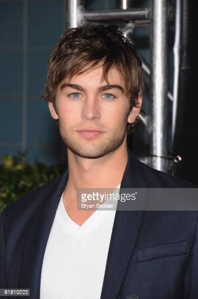 Actor Chace Crawford attends the premiere of The Stepfather at the SVA Theater on October 12 2009 in New York City