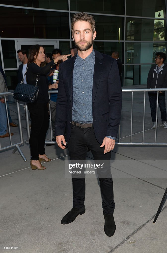 Actor Chace Crawford attends the premiere of Vertical Entertainment's 'Undrafted' at ArcLight Hollywood on July 11, 2016 in Hollywood, California.
