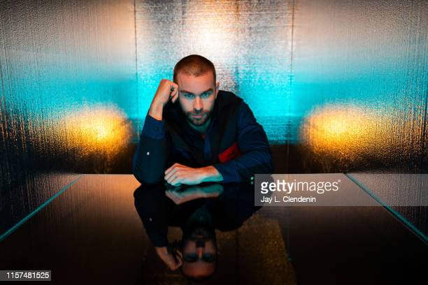 Actor Chace Crawford from 'The Boys' are photographed for Los Angeles Times at ComicCon International on July 20 2019 in San Diego California...