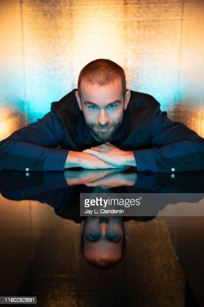 Actor Chace Crawford of 'The Boys' are photographed for Los Angeles Times at ComicCon International on July 20 2019 in San Diego California PUBLISHED...