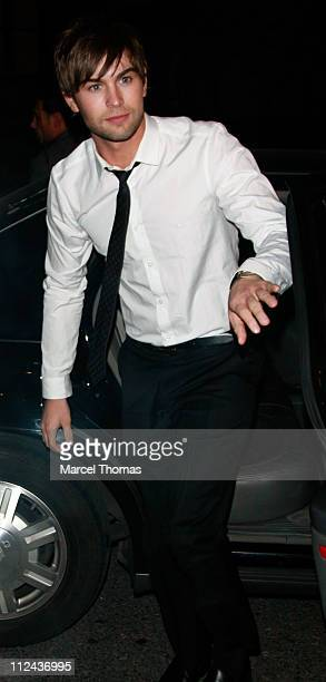 Actor Chace Crawford visits Ye Waverly Inn restaurant on March 12 2008 in New York City