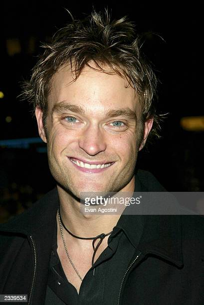 Actor Chad Allen attends a screening for Paris at the 2003 Tribeca Film Festival at the UA Battery Park May 7 2003 in New York City