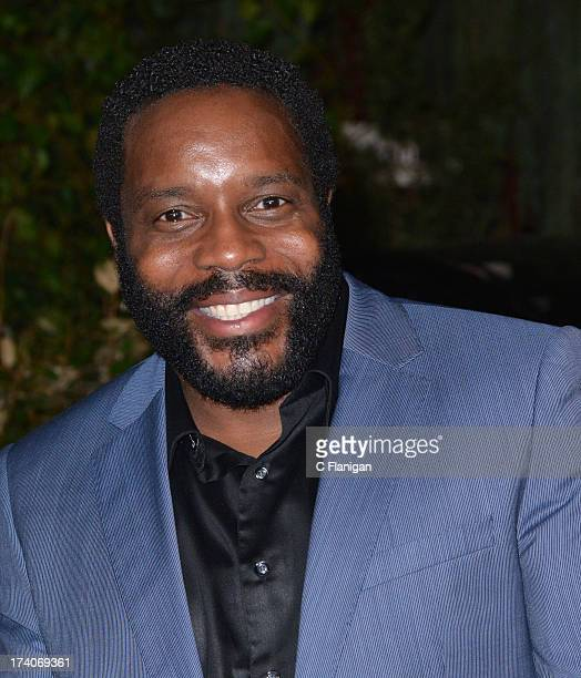 Actor Chad Coleman arrives at the 'The Walking Dead' 10th Anniversary Celebration Event At ComicCon 2013 on July 19 2013 in San Diego California