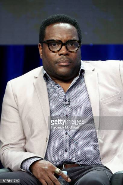 Actor Chad Coleman of 'The Orville' speaks onstage during the FOX portion of the 2017 Summer Television Critics Association Press Tour at The Beverly...