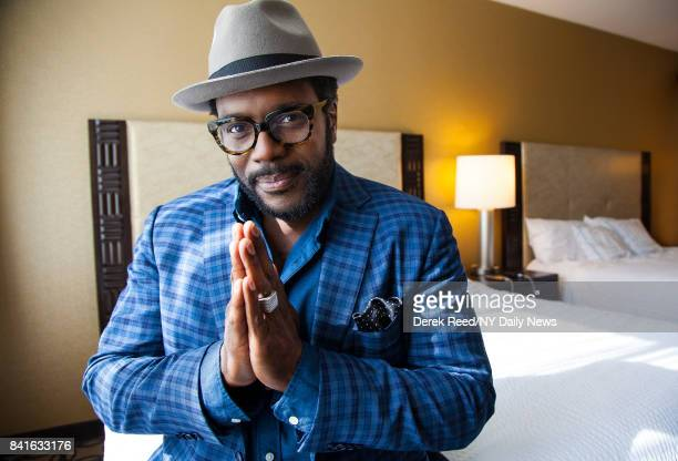 Actor Chad Coleman photographed for NY Daily News on October 7, 2016 in New York City.