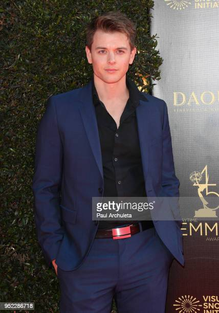 Actor Chad Duell attends the 45th Annual Daytime Creative Arts Emmy Awards at the Pasadena Civic Auditorium on April 27 2018 in Pasadena California