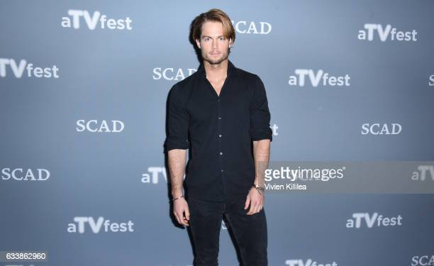 Actor Chad James Buchanan attends the press junket for Rising Star Award presentation to Star on Day Three of aTVfest 2017 presented by SCAD on...