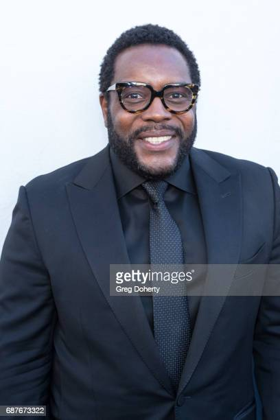 """Actor Chad L. Coleman arrives at the Lifetime Hosts Fan Gala And Advance Screening For """"Michael Jackson: Searching For Neverland"""" at Avalon on May..."""