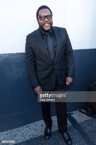 Actor Chad L Coleman arrives at the Lifetime Hosts Fan Gala And Advance Screening For 'Michael Jackson Searching For Neverland' at Avalon on May 23...