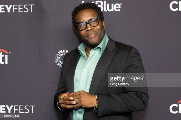 """Actor Chad L. Coleman attends the 2018 PaleyFest Los Angeles for Fox's """"The Orville"""" at Dolby Theatre on March 17, 2018 in Hollywood, California."""
