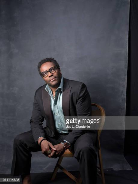 Actor Chad L Coleman from of 'The Orville', is photographed for Los Angeles Times on March 17, 2018 at the PaleyFest at the Dolby Theatre in...