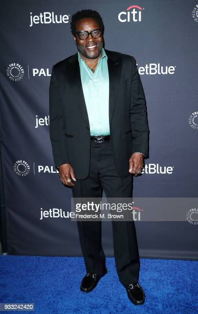 """Actor Chad L. Coleman of the television show """"The Orville"""" attends The Paley Center for Media's 35th Annual Paleyfest Los Angeles at the Dolby..."""