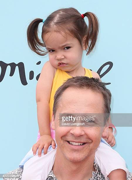 Actor Chad Lowe and daughter Fiona Lowe attend Children Mending Hearts 7th Annual Empathy Rocks Fundraiser at a private estate on June 14 2015 in...