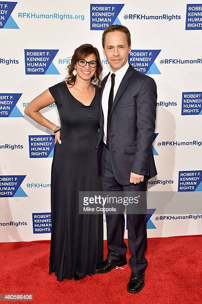 Actor Chad Lowe and producer Kim Painter attend the RFK Ripple Of Hope Gala at Hilton Hotel Midtown on December 16 2014 in New York City