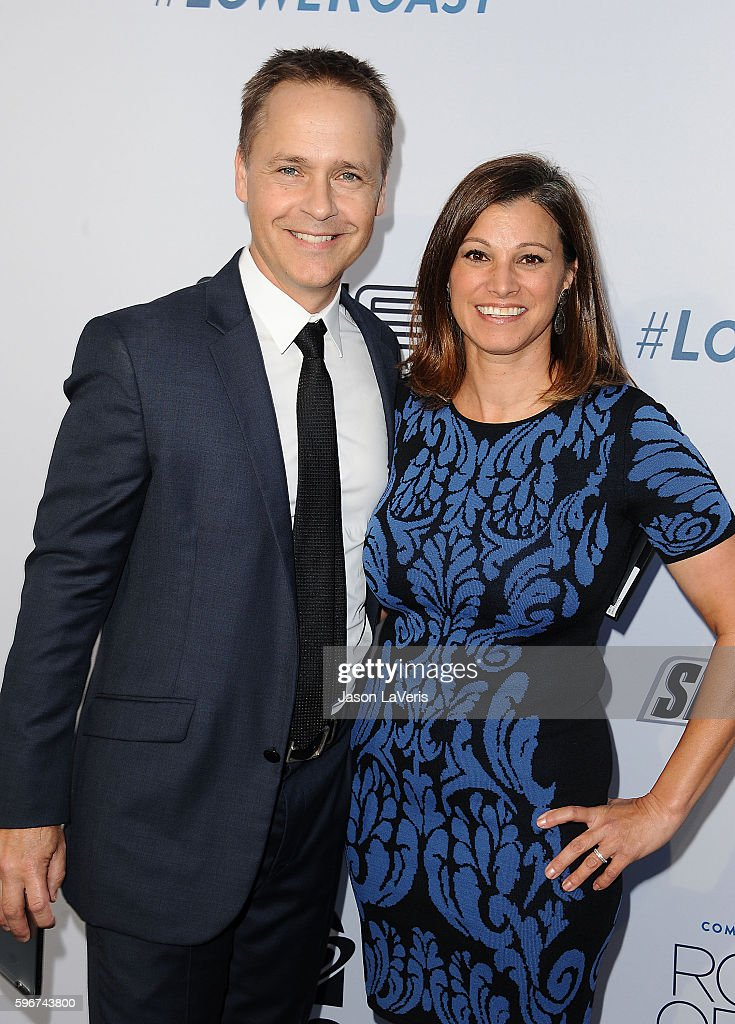Actor Chad Lowe and wife Kim Painter attend the Comedy Central Roast of Rob Lowe at Sony Studios on August 27, 2016 in Los Angeles, California.