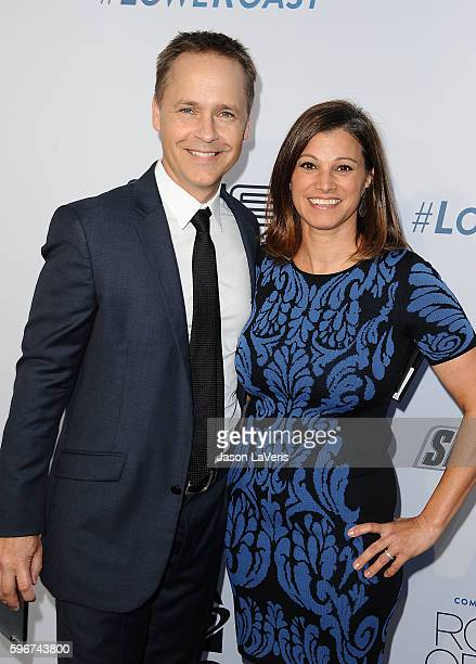 Actor Chad Lowe and wife Kim Painter attend the Comedy Central Roast of Rob Lowe at Sony Studios on August 27 2016 in Los Angeles California
