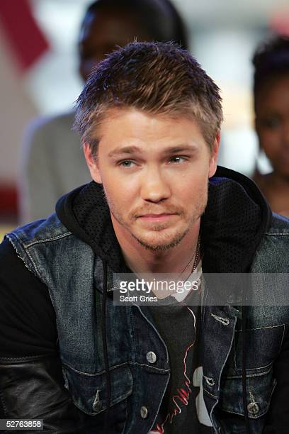 Actor Chad Michael Murray appears onstage during MTV's Total Request Live at the MTV Times Square Studios on May 5 2005 in New York City