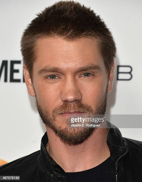 Actor Chad Michael Murray arrives to the premiere of 'Cavemen' at the ArcLight Cinemas on February 5 2014 in Hollywood California
