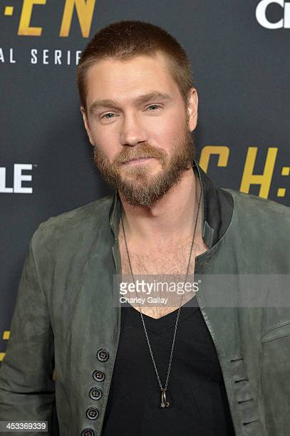 Actor Chad Michael Murray attends Crackle's 'Chosen' season 2 premiere screening at The Grove on December 3 2013 in Los Angeles California