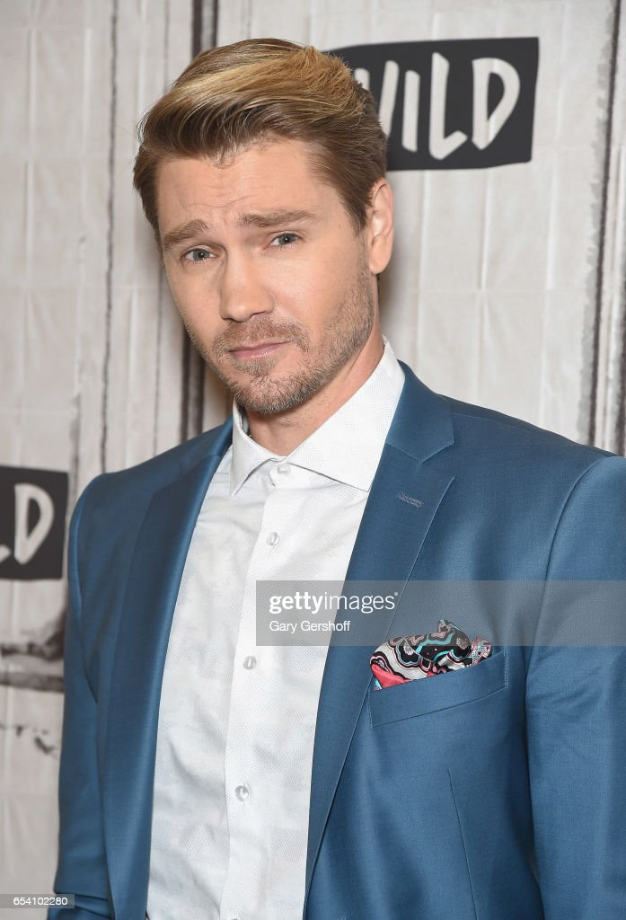Actor Chad Michael Murray attends the Build Series to discuss his role in the series 'Sun Records' at Build Studio on March 16, 2017 in New York City.