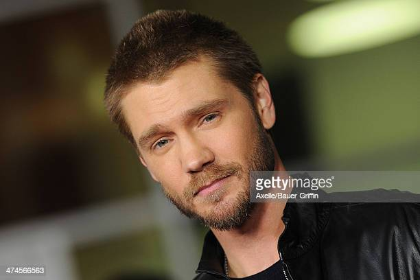 Actor Chad Michael Murray attends the Los Angeles premiere of 'Cavemen' at the ArcLight Cinemas on February 5 2014 in Hollywood California