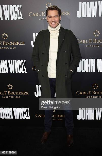 Actor Chad Michael Murray attends the premiere of Summit Entertainment's 'John Wick Chapter Two' at ArcLight Hollywood on January 30 2017 in...