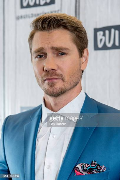 Actor Chad Michael Murray discusses Sun Records with the Build Series at Build Studio on March 16 2017 in New York City
