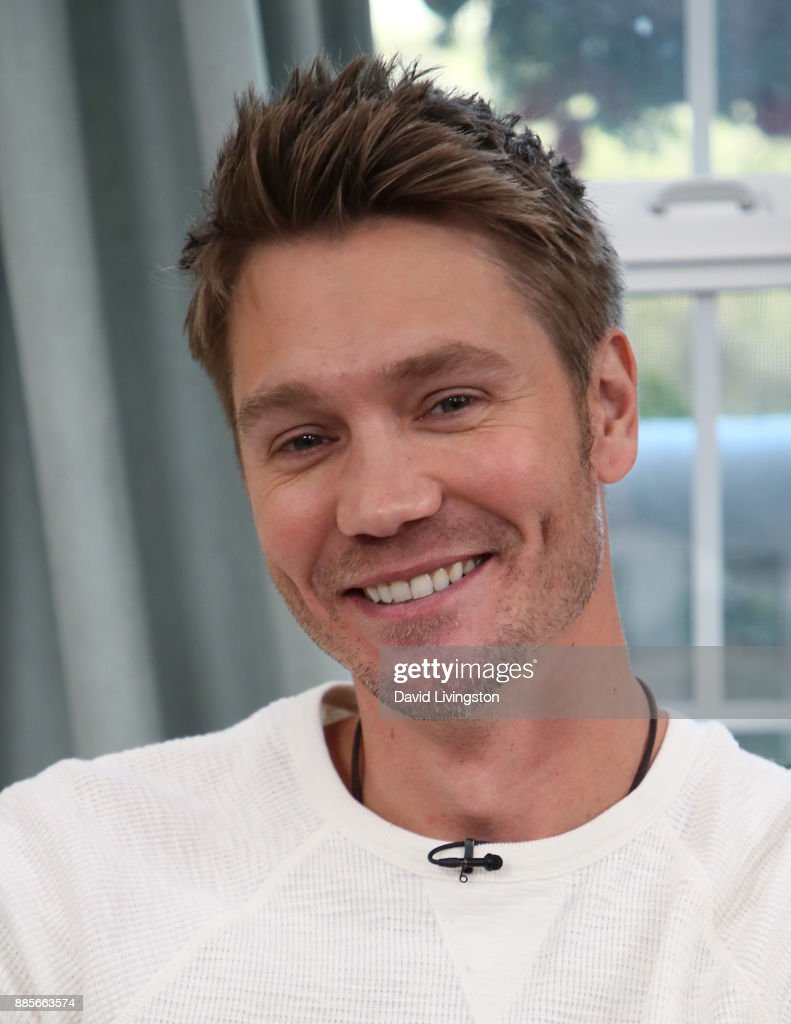 Actor Chad Michael Murray visits Hallmark's 'Home & Family' at Universal Studios Hollywood on December 4, 2017 in Universal City, California.