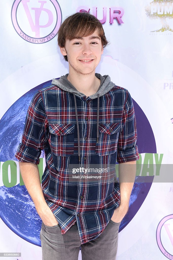 Actor Chad Roberts attends the World Dog Day Celebration at The City of West Hollywood Park on May 22, 2016 in West Hollywood, California.