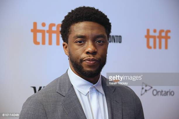 Actor Chadwick Boseman attends Fox Searchlight's 'The Birth of a Nation' special presentation during the 2016 Toronto International Film Festival at...