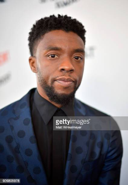Actor Chadwick Boseman attends the 2018 Film Independent Spirit Awards on March 3, 2018 in Santa Monica, California.