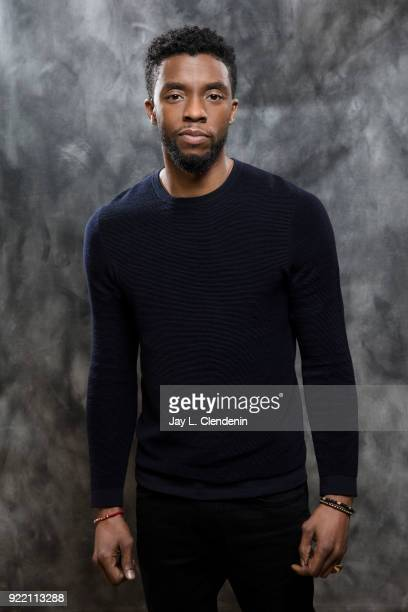 Actor Chadwick Boseman is photographed for Los Angeles Times on January 31 2018 in Beverly Hills California PUBLISHED IMAGE CREDIT MUST READ Jay L...