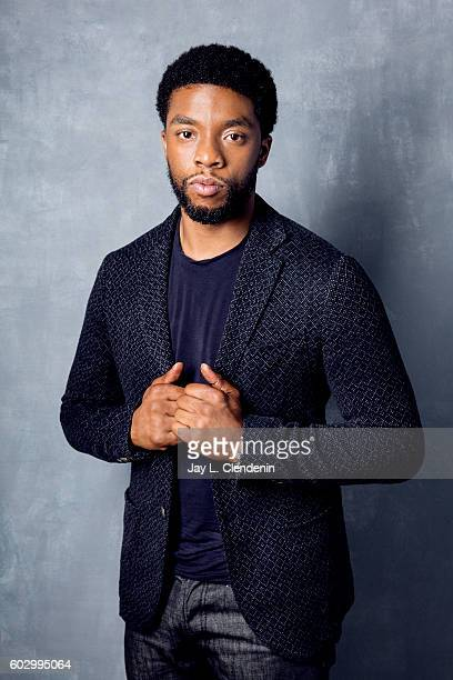 Actor Chadwick Boseman of 'Message from the King' poses for a portraits at the Toronto International Film Festival for Los Angeles Times on September...