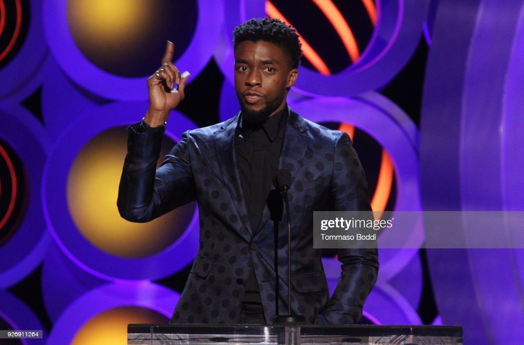 Actor Chadwick Boseman speaks onstage during the 2018 Film Independent Spirit Awards on March 3, 2018 in Santa Monica, California.