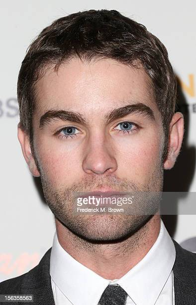 Actor Chance Crawford attends the Premiere Of 'American Masters Inventing David Geffen' at The Writers Guild of America on November 13 2012 in...